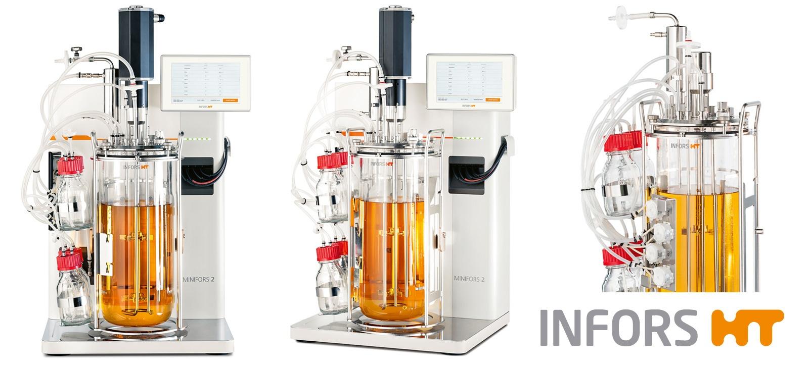 Биореактор Minifors 2 бактериальный 6 л
